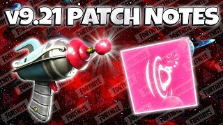 v9.21 Update Patch Notes | Fortnite Save The World