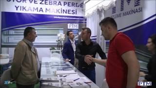 Stor ve Zebra Perde Yıkama & Temizleme Makinası & Makinesi CNR EXPO EVTEKS FUARI 2017