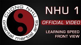 Cuong Nhu - Nhu 1 - Official Kata - Learning Speed - Front View