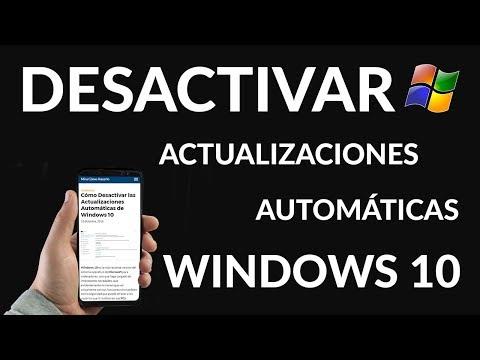 Cómo Desactivar las Actualizaciones Automáticas de Windows 10
