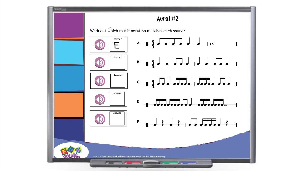Teaching Aural Skills in Music Lessons