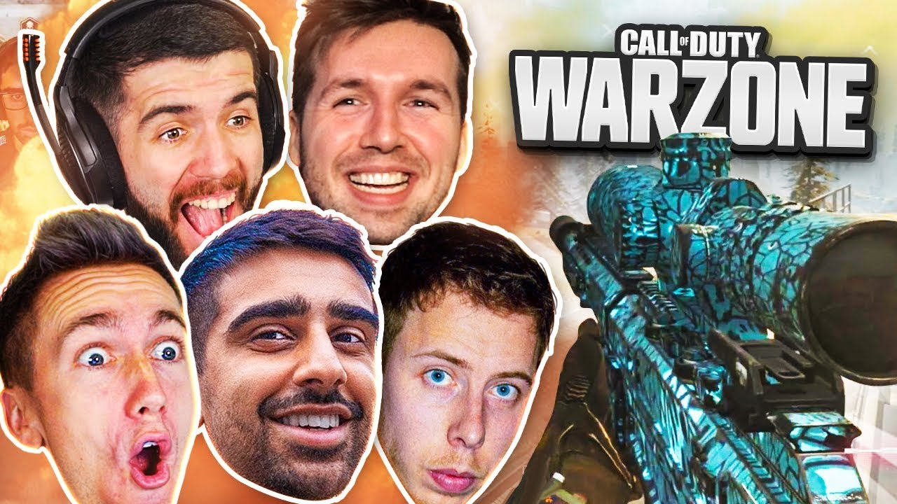 SNIPING WINS on WARZONE! - CoD Battle Royale