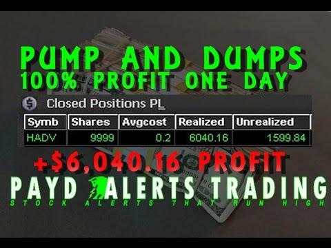 Pump And Dump +100% GAIN! Banked $6,040.16 Profit $HADV