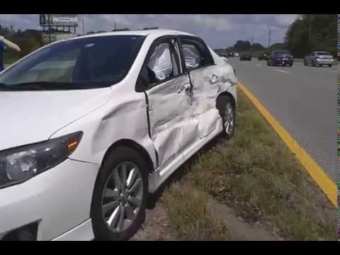 Accident on State Road 54 Land O' Lakes Florida - May 12, 2015