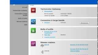 شرح إعدادت roteur wifi  TD5130 لاتصالات المغرب