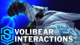 Volibear Special Interactions