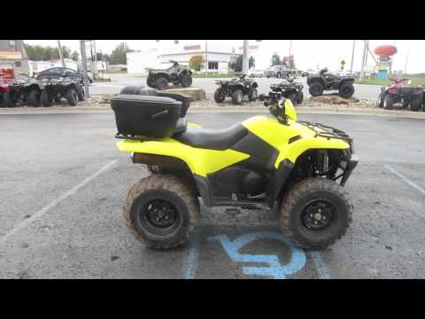 2011 Suzuki KingQuad 500 4x4 For Sale at Morgantown Powersports