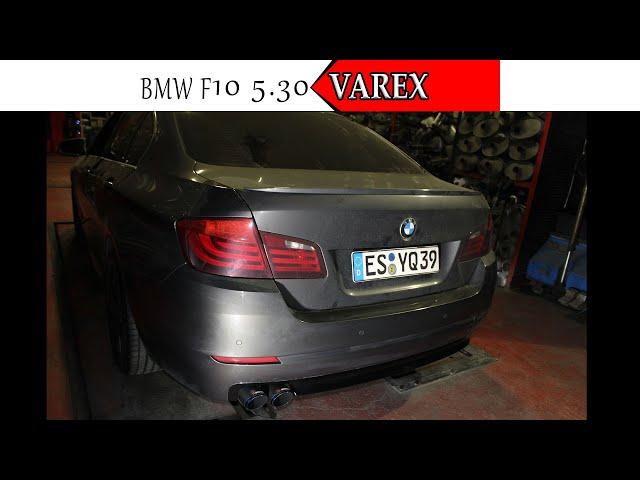 BMW F10 5.30 PERFORMANS KUMANDALI EGZOZ SESİ