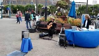 July 29, 2011 5:32 PM- John Clarke Acoustic Guitar Musician Pier 39