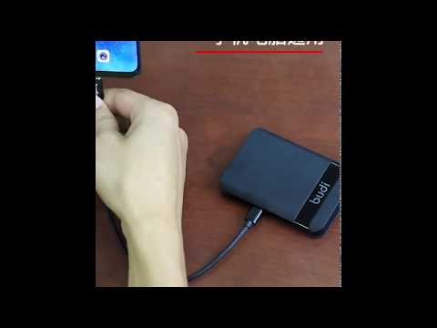 Ultra Portable Charging Solution With 6 Features Budi Multi-functional Box  All The Cable You Need