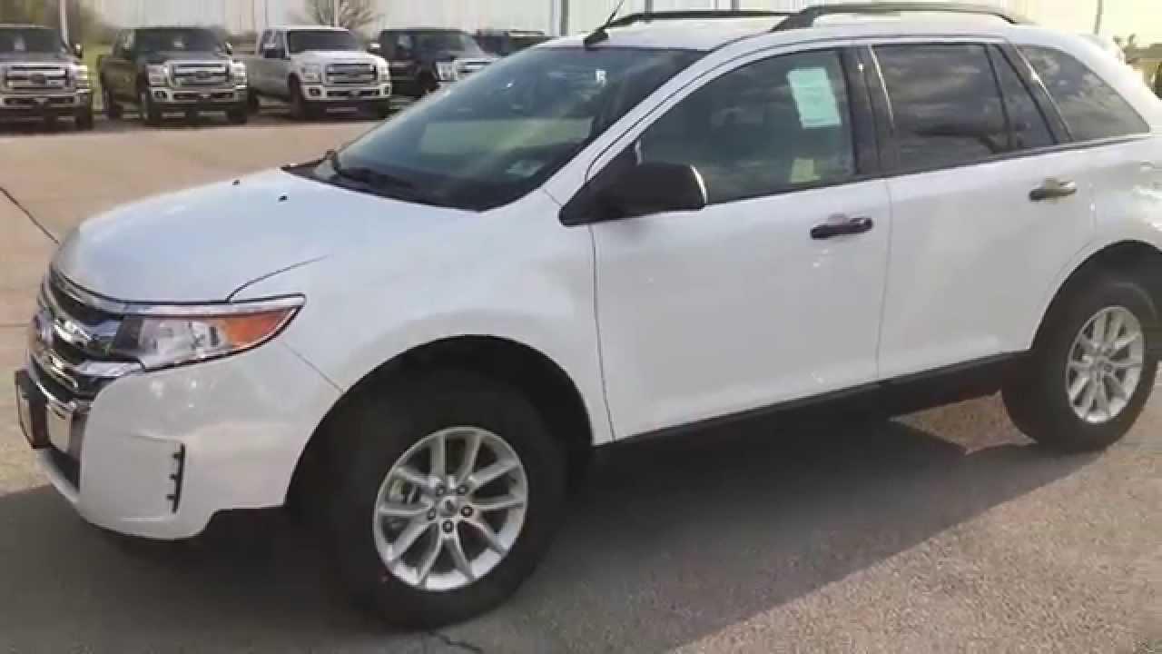 2014 Ford Edge Se >> Ebb24134 2014 Ford Edge Se White Patriotford
