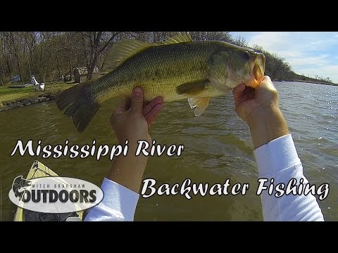 Mississippi River Backwater Fishing