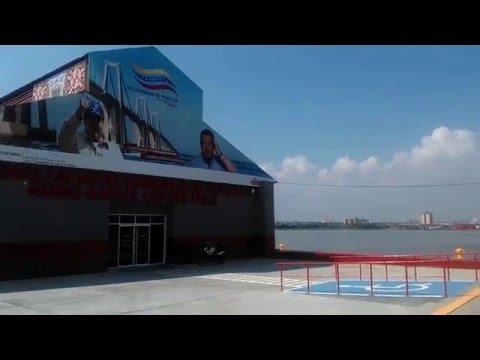 """MARACAIBO: TERMINAL LACUSTRE COMANDANTE SUPREMO """"HUGO CHÁVEZ FRÍAS"""""""