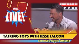 Talking Toys with Marvel's Jesse Falcon Live at SDCC 2018
