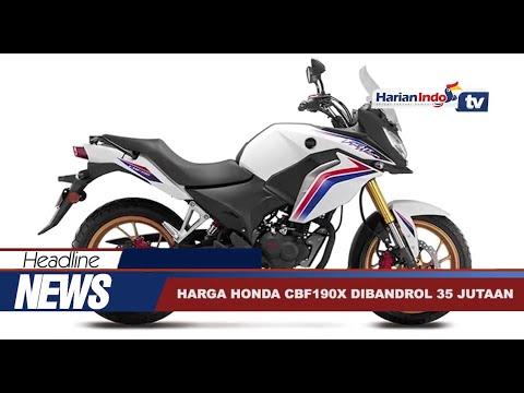 Resmi Dirilis, Harga Honda CBF190x Dibandrol Rp 35 Jutaan