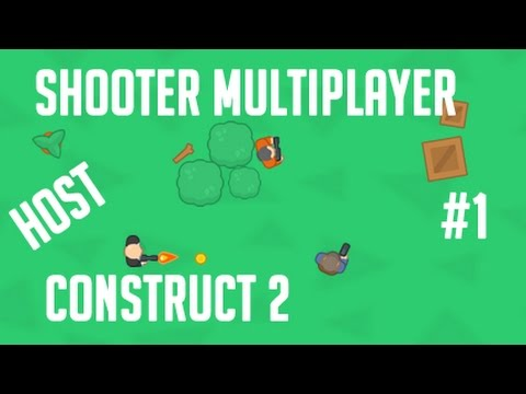 Construct 2 multiplayer shooter - HOST conexão com servidor de sinalização