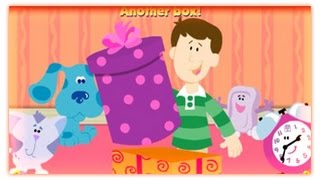 Blue's Clues - What's In The Box ? - Blue's Clues Games