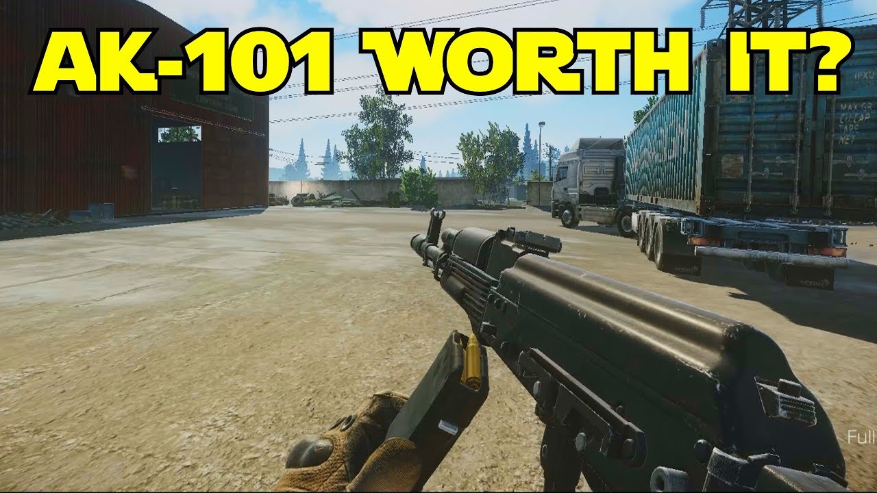 AK 101 Worth The Grind? Escape...