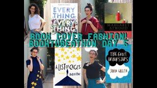 BOOK COVER FASHION! BookTubeAThon Day 5