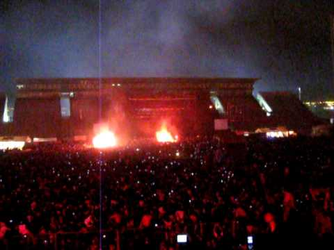 Indio Solari - Salta 2009 - Apertura Fuegos de Oktubre