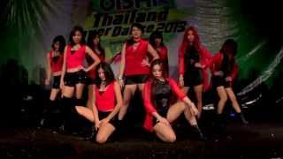 131006 t girls cover nine muses wild oishi thailand cover dance 2013 audition