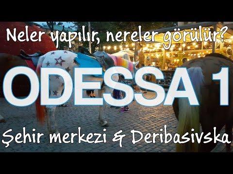 ODESSA Ukrayna 1 | Vizesiz, Eğlenceli... Şehir ve Gece Hayatı, Konaklama, Ulaşım, Görülecek Yerler