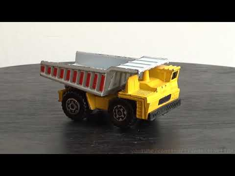Old Worn Out Diecast Construction Machines