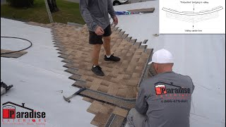 How To Properly Install Valley Shingles Following HVHZ Florida Code Paradise Exteriors Roofing