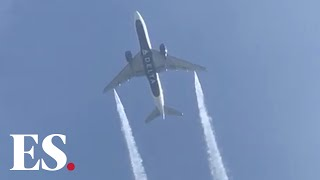 Delta Airlines plane dumps jet fuel on Los Angeles primary school, 56 with 'skin & lung irritation'