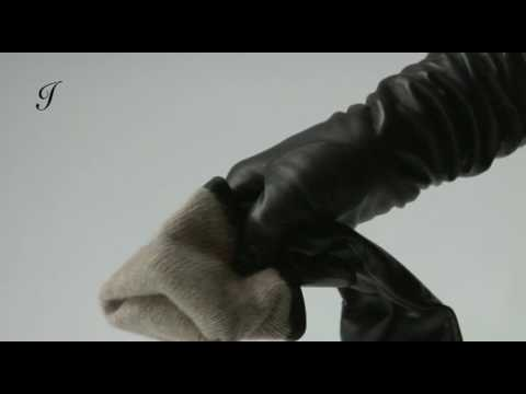 Ines Gloves - Sensual Cashmere Almost Elbow High Leather Fashion Gloves