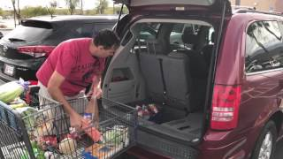 What $56 Will Buy You At Aldi In Palm Springs California! :)