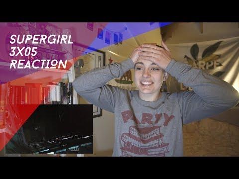 """Supergirl Season 3 Episode 5 """"Damage"""" REACTION"""