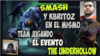 SMASH Y KBRITOZ  EN EL MISMO TEAM JUGANDO EL EVENTO THE UNDERHOLLOW