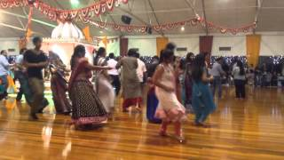 Auckland garba 2013 at Gandhi hall New Zealand day 5