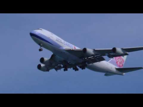 B-18715 China Airlines Cargo Boeing 747 409F Landing SFO