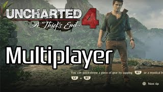 Uncharted 4 Multiplayer Gameplay + First Impressions