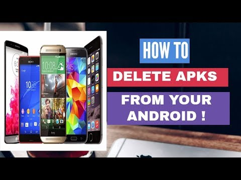 How To Delete Apk Files On Android