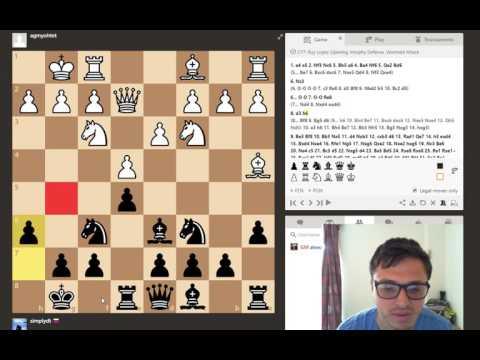 Ruy Lopez w/Black - Chess Analysis #1 with GM Alex Colovic