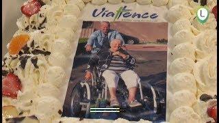 De rolstoelfiets bij Viattence