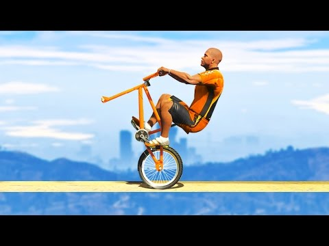 HARDEST BICYCLE RACE IN HUMAN HISTORY! (GTA 5 Funny Moments)
