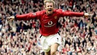 Top 10 David Beckham Goals - The Legendary Footballer's Career Top Goals