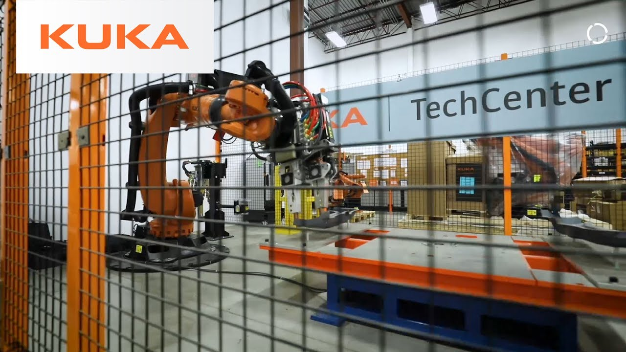 Kuka Robotics Spot Welding Techcenter Ontario Canada Walkthrough