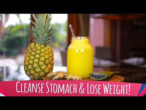 Smoothie To Cleanse Stomach & Lose Weight!