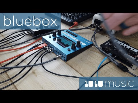 An example recording session featuring the Bluebox Compact Digital Mixer/Recorder