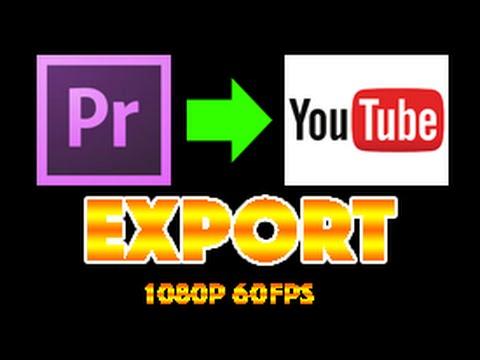 Best export option on adobe premier