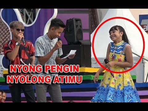 LUCU ! Tasya Rosmala Dirayu Pakai Pusisi NGAPAK , INBOX Cilacap 31 Maret 2018