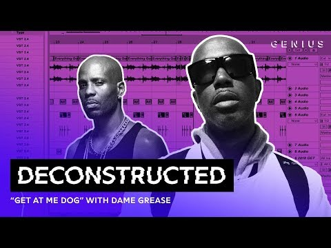 """The Making Of DMX's """"Get At Me Dog"""" With Dame Grease 