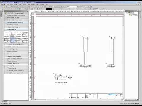 fluidsim tutorial mit arbeitsauftrag f r. Black Bedroom Furniture Sets. Home Design Ideas
