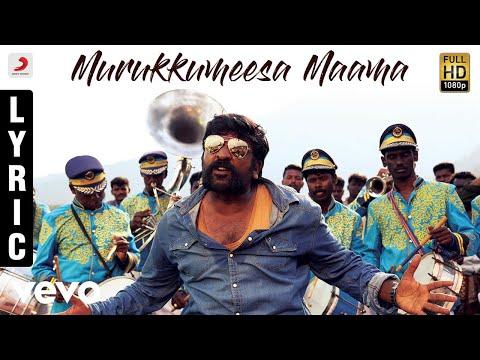 Karuppan - Murukkumeesa Maama Tamil Lyric Video | Vijay Sethupathi | D. Imman