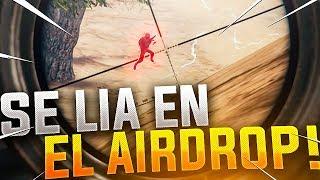 ¡LOOTEO UN AIR-DROP Y VIENEN DOS SQUADS! PLAYERUNKNOWN'S BATTLEGROUNDS GAMEPLAY ESPAÑOL (PUBG)